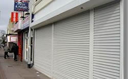 Aluminium Roller Shutters Installed Halifax