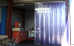 Pvc Strip Curtain Repairs Ripponden