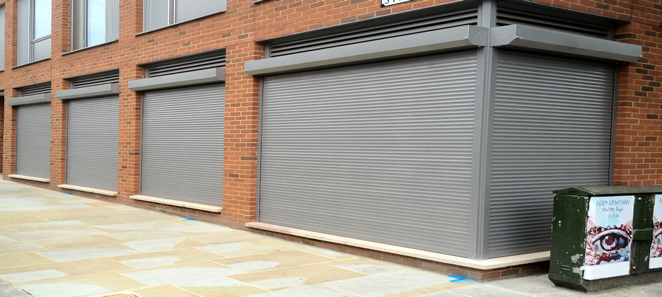 Aluminium Shutter Door Repairs Halifax