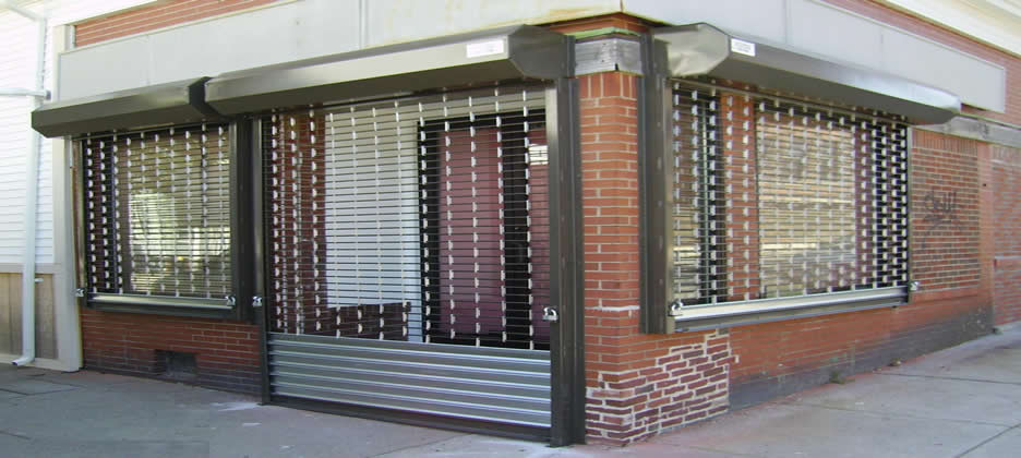 Retail Security Grills Halifax