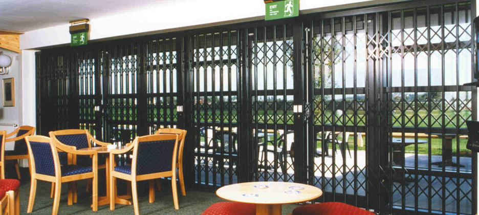 Commercial Security Grilles Halifax
