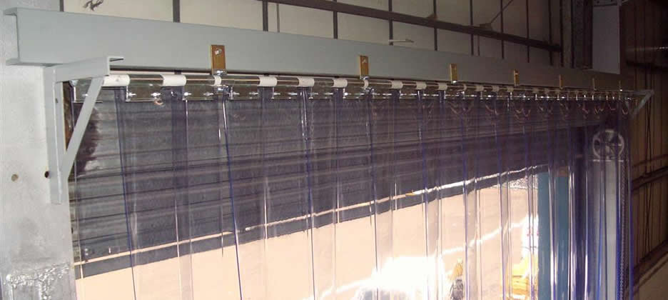 Pvc Strip Curtains Installed  Ripponden
